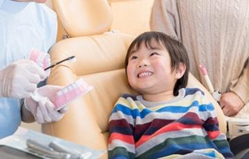 乳歯の頃から「歯医者に通う習慣」を